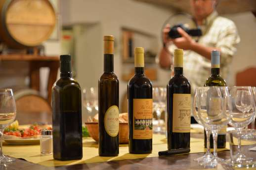 Fiat 500 Tour - A selection of wines.