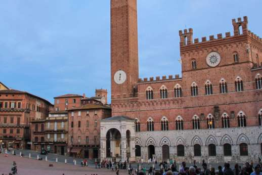 Siena Beyond The Palio - Piazza del Campo in Siena