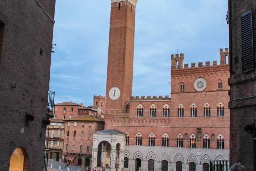 Siena Beyond The Palio - Torre del Mangia in Siena
