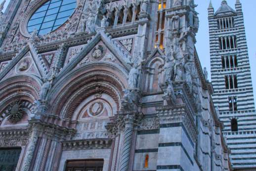 Siena Beyond The Palio - A view of Siena Cathedral