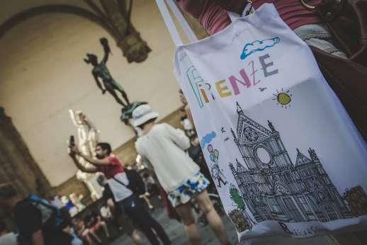 Uffizi & Florentine Squares - Wondering around Piazza della Singnoria in Florence
