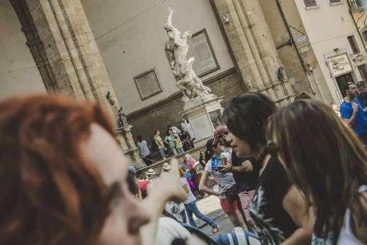 Uffizi & Florentine Squares - Renaissance painting.