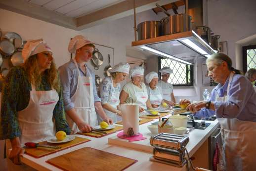 Anna your chef in Tuscany - Meet Signora Anna...with over sixty years of practising and perfecting Italian cooking, you can surely learn a thing or two from her. Her cooking classes are the most entertaining and engaging you can imagine; her recipes are d