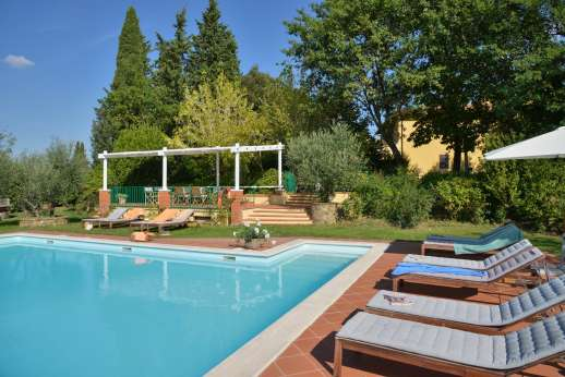 Podere San Carlo - The pool perfect for those hot summer months.