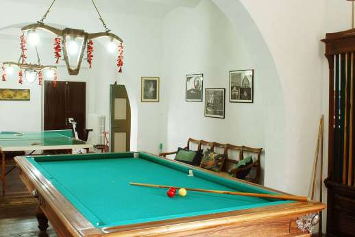 Podere San Carlo - The games room at Podere San Carlo.