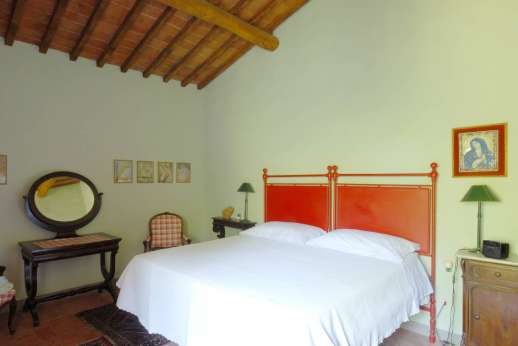 Podere San Carlo - Double bedroom.
