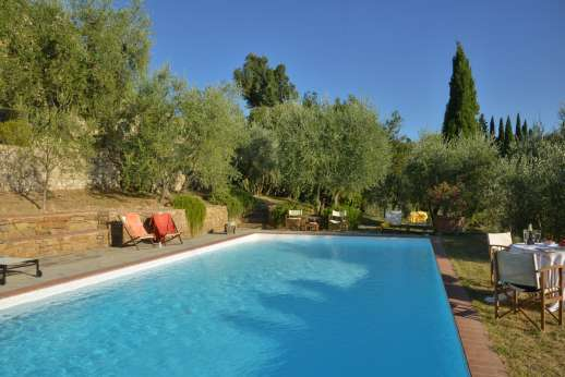 Il Nido del Picchio - Picture perfect within a walled and gated garden