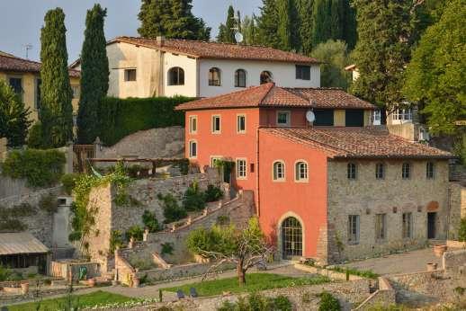 Il Nido del Picchio - The multi tiered villa