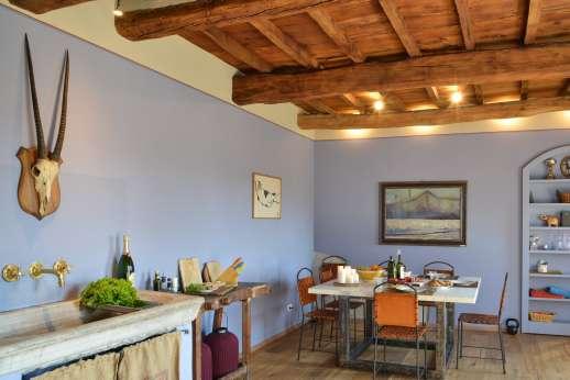 Il Nido del Picchio - Beautiful old wooden ceilings