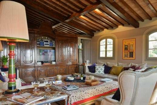 Il Nido del Picchio - Living room on the ground floor