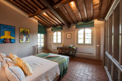Il Nido del Picchio - Another view of the ground floor master bedroom