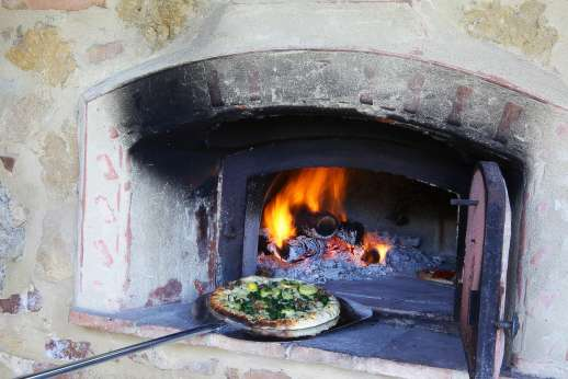 San Leolino (x 12 people) with Staff and Cook - Have a pizza evening prepared and cooked for you in the traditional wood oven by the staff at San Leolino.