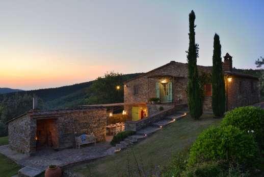Villa Ambra - Villa in the evening