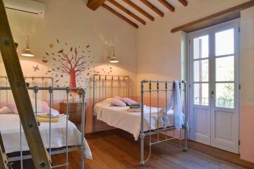 Acqua e Miele - The master bedroom.