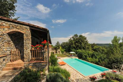 Campo Chinandoli - The private swimming pool, 5 x 10m/16 x 32 feet.