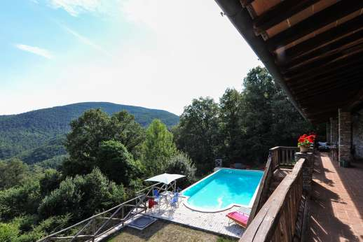 Campo Chinandoli - Wonderful views from the pool terrace