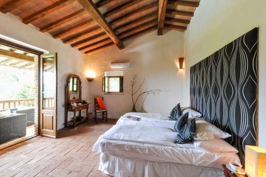 Campo Chinandoli - Twin bedroom or converted to a double, also with air conditioning.