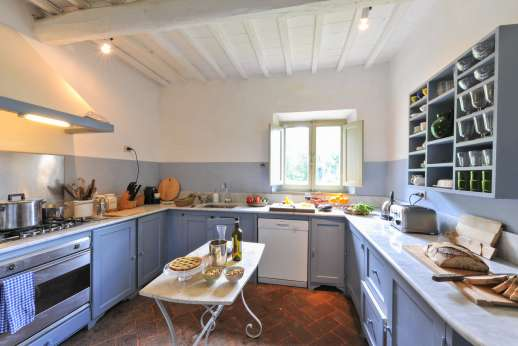Casa al Bosco - Ground floor kitchen