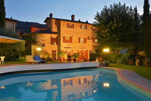 Casa Paggetti - Perfect for dusk time swimming.