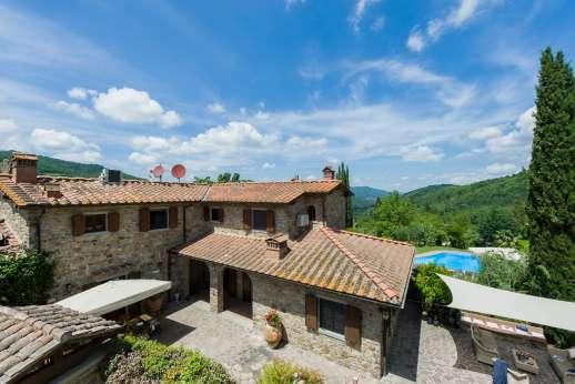 Casa Paggetti - Casa Paggetti, near Greve in Chianti. Tuscany.