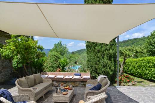 Casa Paggetti - Outside shaded seating