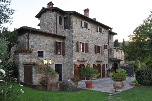 Casa Paggetti - A restored and converted the old stone building, now a very comfortable home.