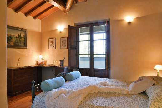 Casa Paggetti - Spacious, comfortable bedrooms.