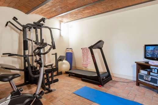 Casa Paggetti - A gym.