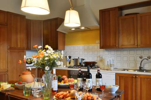 Casa Vecchia - A large and well equipped kitchen.