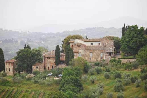 Casa Vecchia - Casa Vecchia surrounded by the rolling Chianti hills