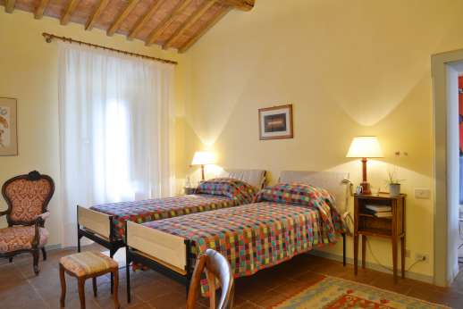 Geggianello - Twin bedroom also air conditioned.