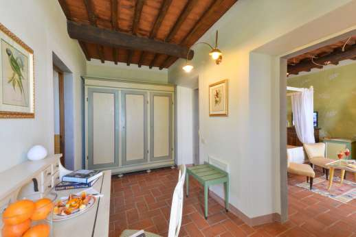 I Corbezzoli - Another view of Guest house double bedroom named Le Acacie.