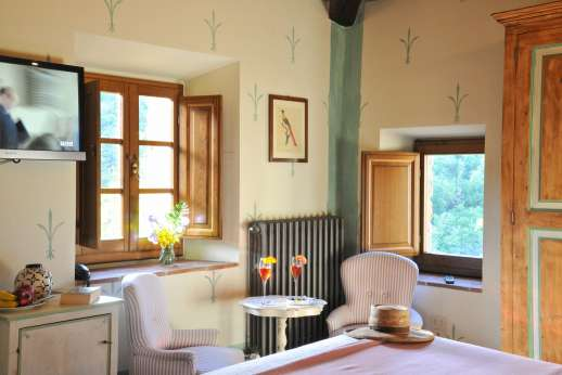 A Cooking Week at I Corbezzoli - Another view of I Cipressi in the guest house