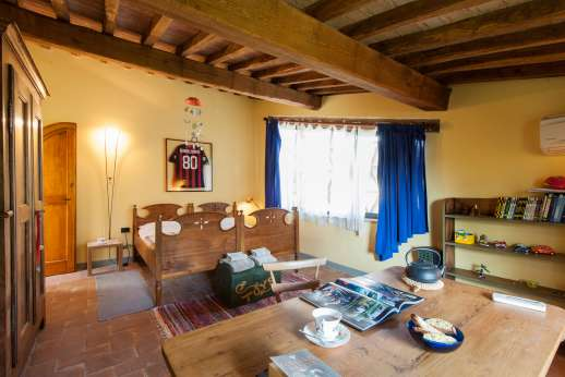 I Tre Cipressi - Another of the double bedrooms.