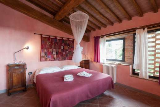 I Tre Cipressi -  double bedroom.