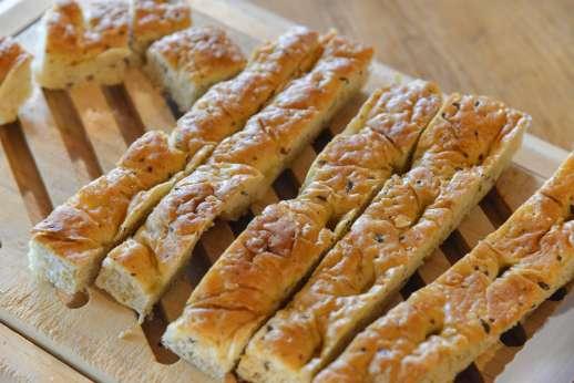 I Tre Cipressi - Beautiful focaccia bread