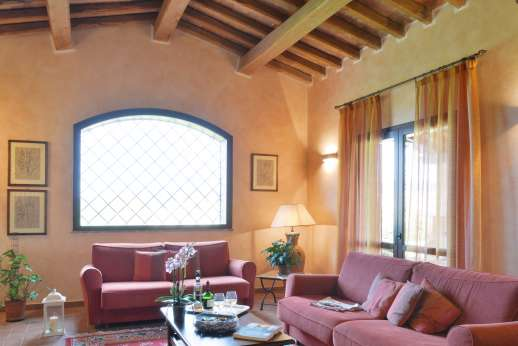 Il Chiesino - The first floor sitting room.