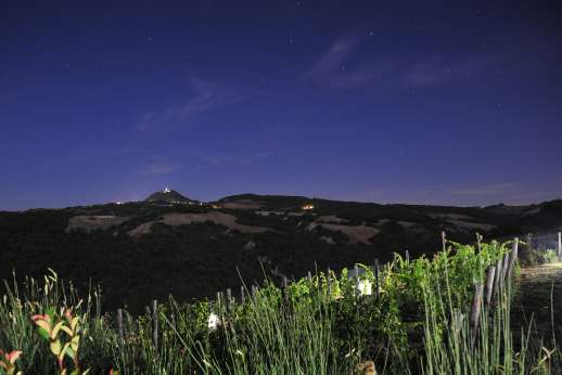 Il Cornello - The Val d'Orcia is classified by UNESCO as a world heritage site and many claim this it is the most beautiful landscape in Tuscany.