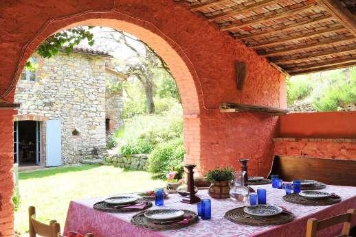 Il Fienile - Dine in the romantic old barn near the kitchen.