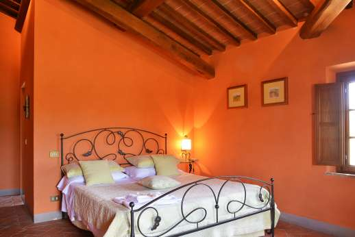 Il Granaio - First floor double bedroom