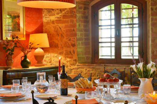 Il Granaio - Ground floor dining room