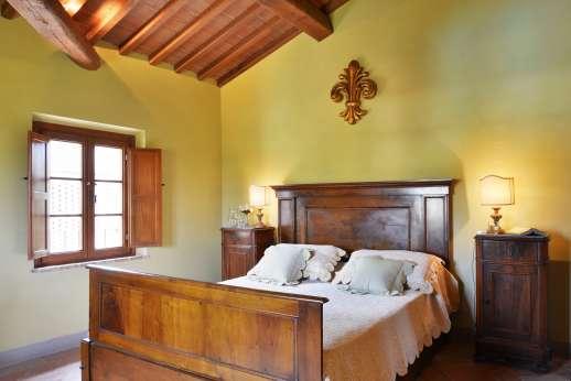 Il Granaio - A twin bedroom.