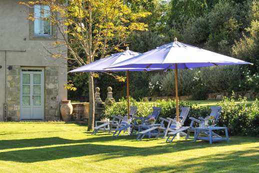 Il Merlano - Seven hectares/twenty acres of olive groves surround the property's extensive lawns