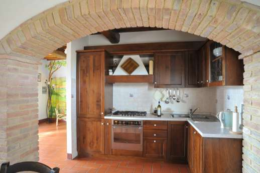 Il Renaccio - Guest house, air conditioned kitchenette.