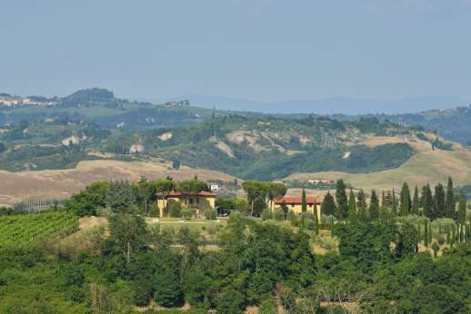 Il Renaccio (x 20 people) with Staff and Cook - Within minutes of two of Tuscany's most beautiful hill towns, Certaldo, 4km/2.5 miles, and San Gimignano, lies Il Renaccio.