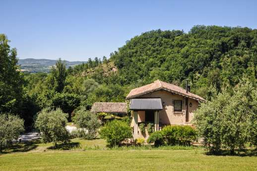 L'Olmo (x 4 people) with Staff and Cook - View from the villa