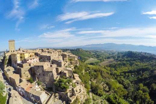 L'Orto di Alice - Views of Civitella D' Agliano.
