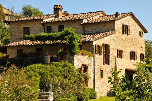 La Casa di Montegrossi - A large beautifully restored stone villa