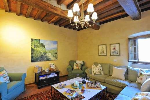 La Casa di Montegrossi - The den