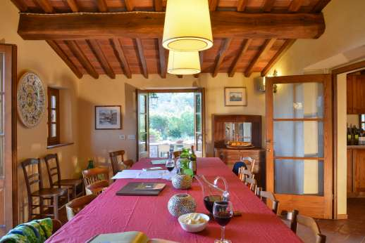 La Casa di Montegrossi - Dining room with access